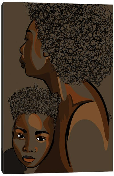 Mommy & Me VIII Canvas Art Print