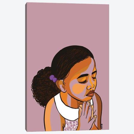 Teach The Children To Pray Canvas Print #NRX16} by NoelleRx Canvas Art