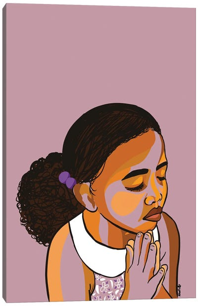 Teach The Children To Pray Canvas Art Print