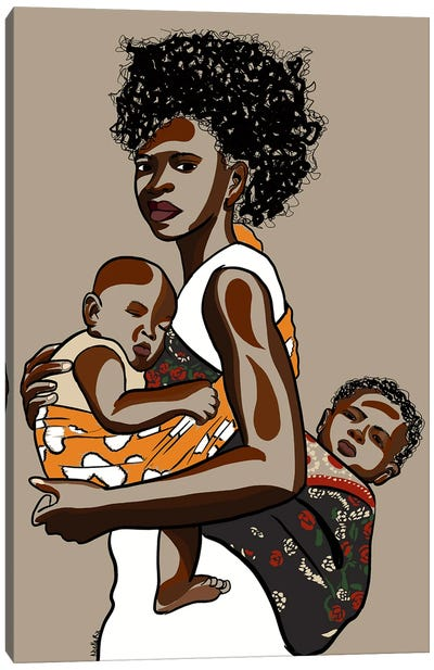 Wrapped up in Love III Canvas Art Print