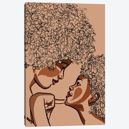Mommy & Me I Canvas Print #NRX21} by NoelleRx Canvas Art