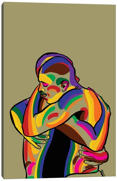 Love Is Love Canvas Art Print