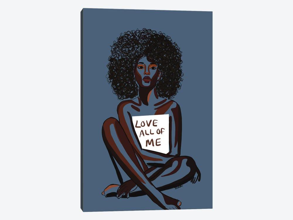 Love All Of Me by NoelleRx 1-piece Canvas Artwork