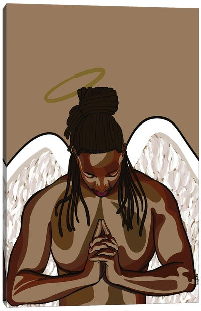Angel I Canvas Art Print