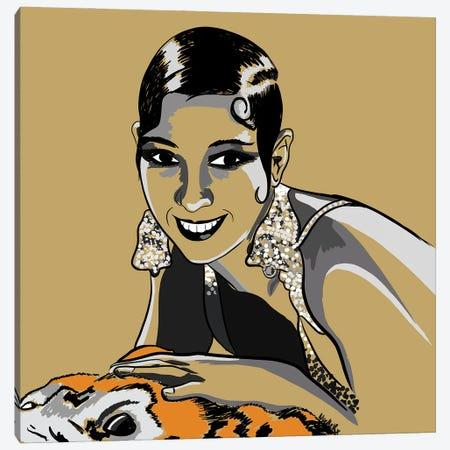 Josephine Baker Canvas Print #NRX29} by NoelleRx Canvas Artwork
