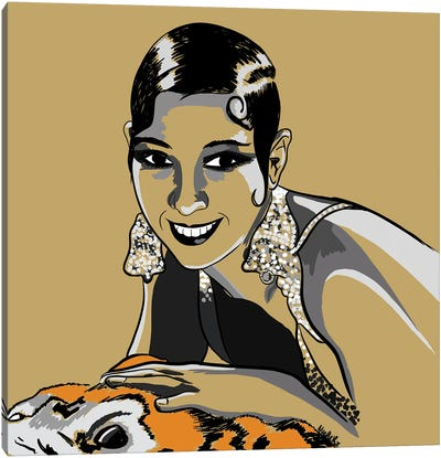 Josephine Baker Canvas Art Print