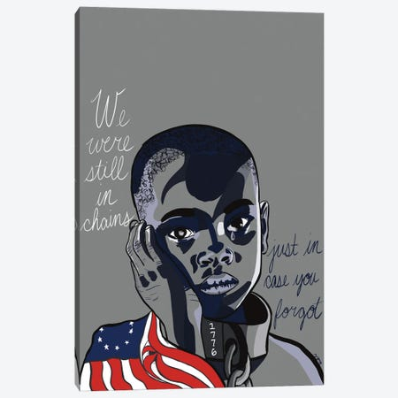 July 4th Canvas Print #NRX34} by NoelleRx Canvas Wall Art