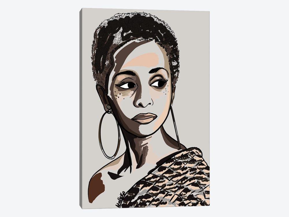 Black Hair Story - Low Fro by NoelleRx 1-piece Canvas Art
