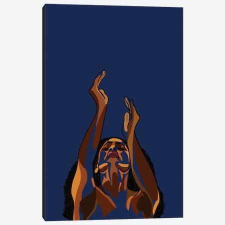 Stretch My Hands To Thee II Canvas Print #NRX38} by NoelleRx Canvas Print