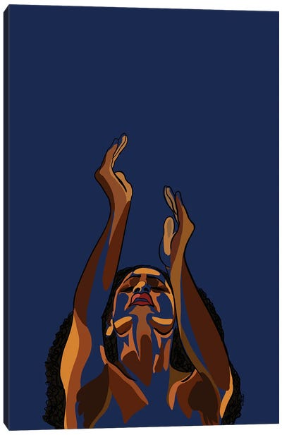 Stretch My Hands To Thee II Canvas Art Print