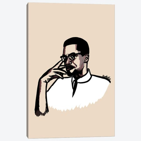 Brother Malcolm Canvas Print #NRX39} by NoelleRx Canvas Print