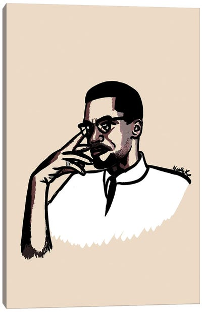 Brother Malcolm Canvas Art Print