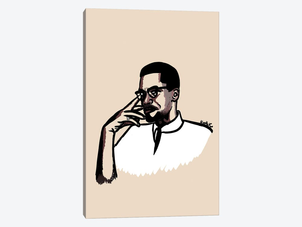 Brother Malcolm by NoelleRx 1-piece Canvas Print