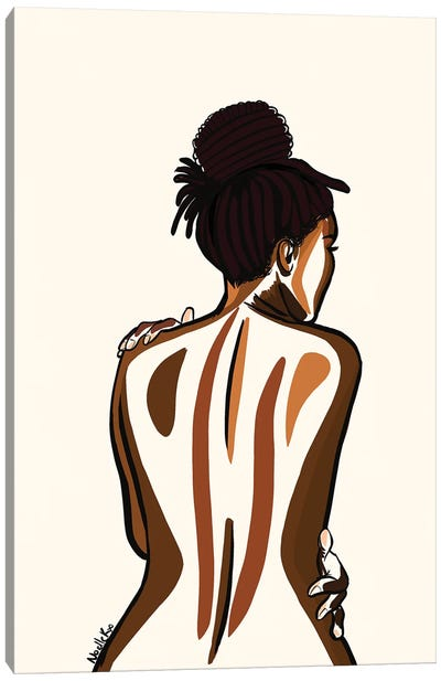 Love Your Body II Canvas Art Print