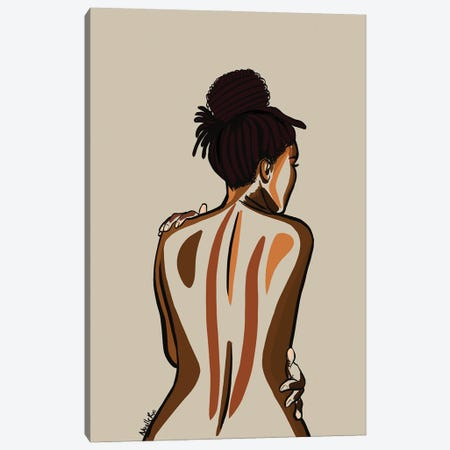 Love You Body III Canvas Print #NRX47} by NoelleRx Art Print