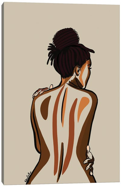 Love You Body III Canvas Art Print