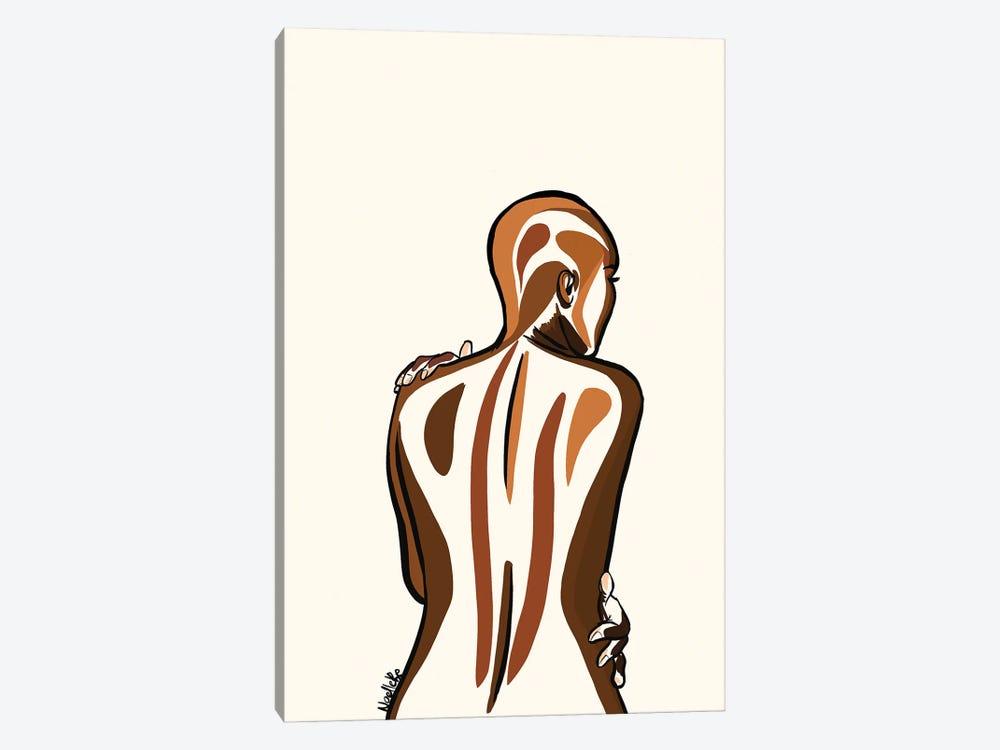 Bald And Beautiful by NoelleRx 1-piece Art Print