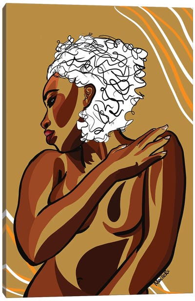 Love Your Body IV Canvas Art Print