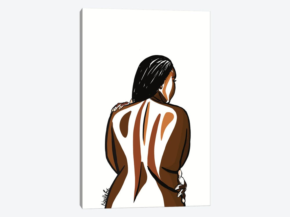 Love Your Curves III by NoelleRx 1-piece Canvas Art Print