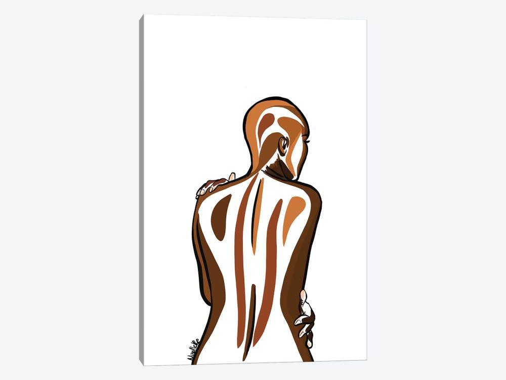 Bald And Beautiful II by NoelleRx 1-piece Canvas Art