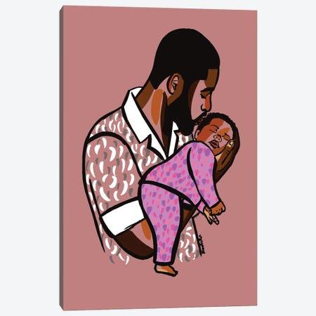 Daddy's Baby II Canvas Print #NRX54} by NoelleRx Canvas Artwork