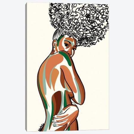 Just Me Canvas Print #NRX55} by NoelleRx Canvas Artwork
