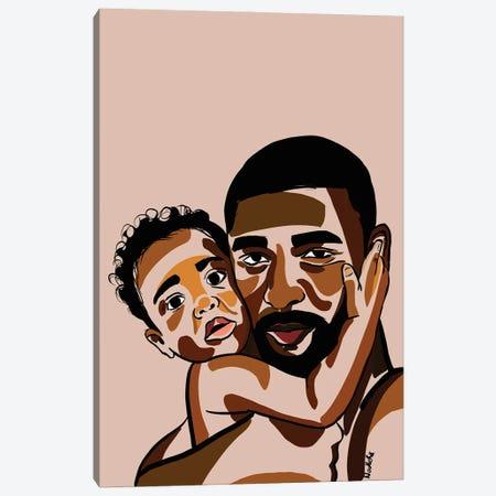 Daddy's Baby III Canvas Print #NRX59} by NoelleRx Canvas Art Print