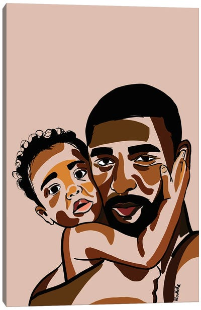 Daddy's Baby III Canvas Art Print