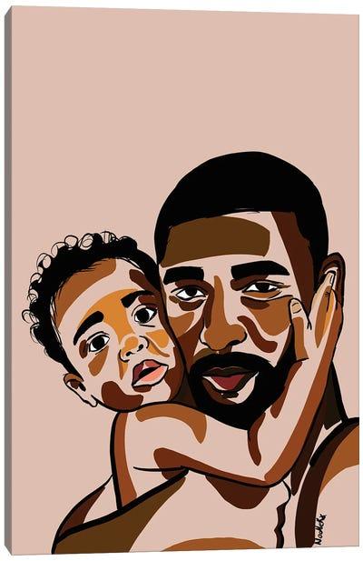 Daddy's Baby III Canvas Art Print
