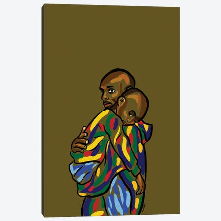Daddy & Me I Canvas Print #NRX8} by NoelleRx Canvas Print