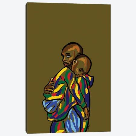 Daddy & Me I Canvas Print #NRX8} by NoelleRx Canvas Print