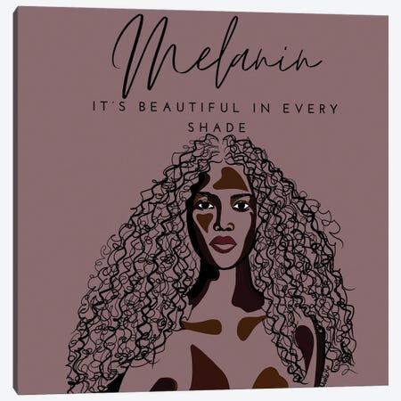 Melanin III Canvas Print #NRX94} by NoelleRx Canvas Artwork