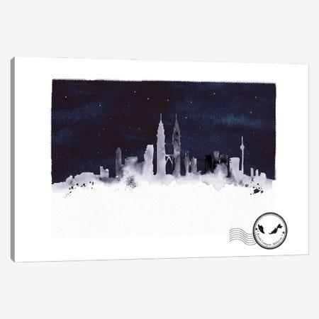 Kuala Lumpur At Night Skyline Canvas Print #NRY131} by Natalie Ryan Canvas Artwork