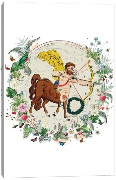 Sagittarius Horoscope Canvas Art Print