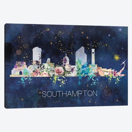 Southampton Skyline Canvas Print #NRY45} by Natalie Ryan Canvas Wall Art