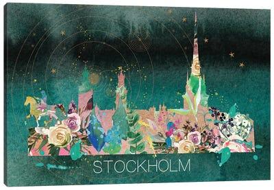 Stockholm Skyline Canvas Art Print
