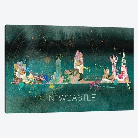 Newcastle Skyline Canvas Print #NRY48} by Natalie Ryan Canvas Print