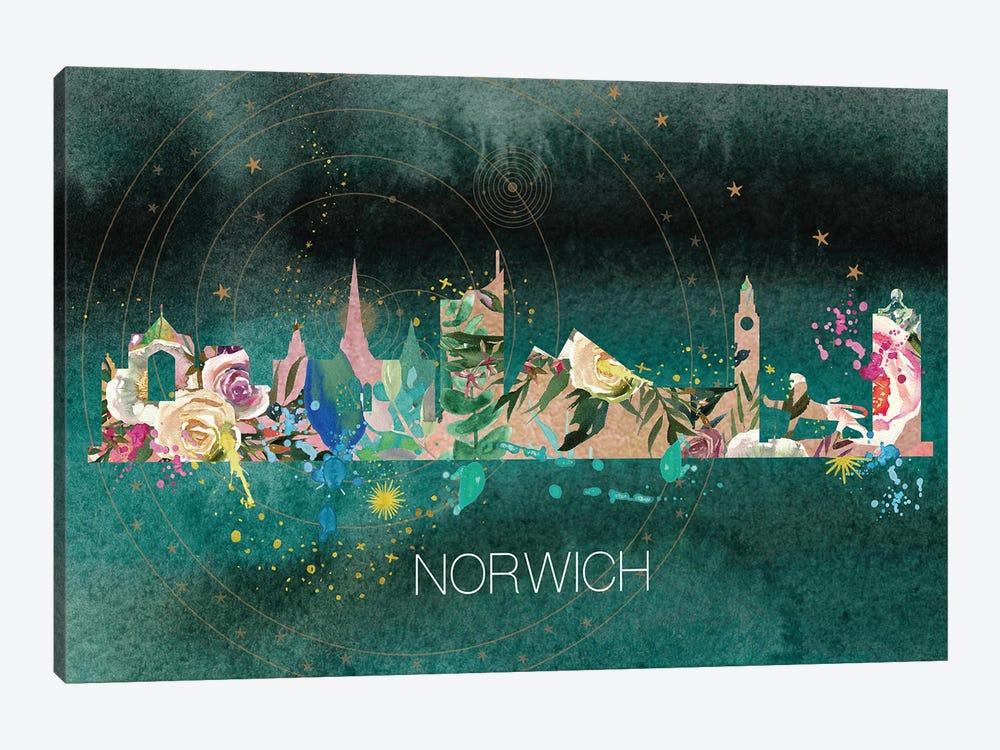 Norwich Skyline by Natalie Ryan 1-piece Art Print