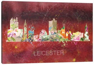 Leicester Skyline Canvas Art Print