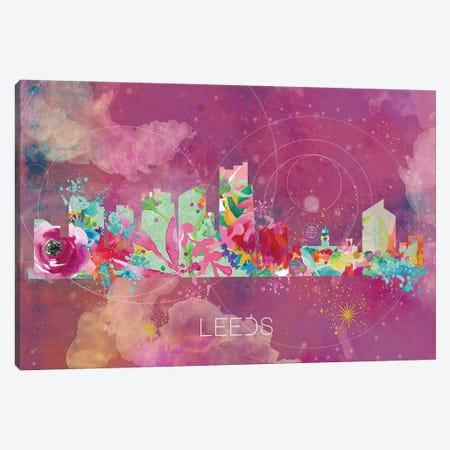 Leeds Skyline Canvas Print #NRY53} by Natalie Ryan Canvas Artwork