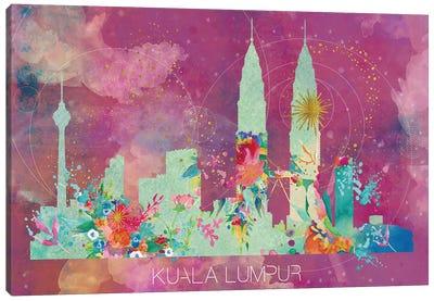 Kuala Lumpur Skyline Canvas Art Print