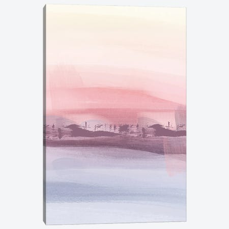 Warm Abstract Canvas Print #NRY83} by Natalie Ryan Art Print