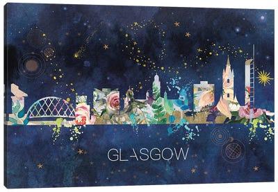 Glasgow Skyline Canvas Art Print