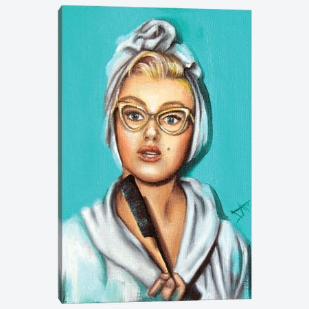 Marilyn Canvas Print #NSD10} by Salma Nasreldin Canvas Artwork