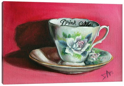 Drink Me Canvas Art Print