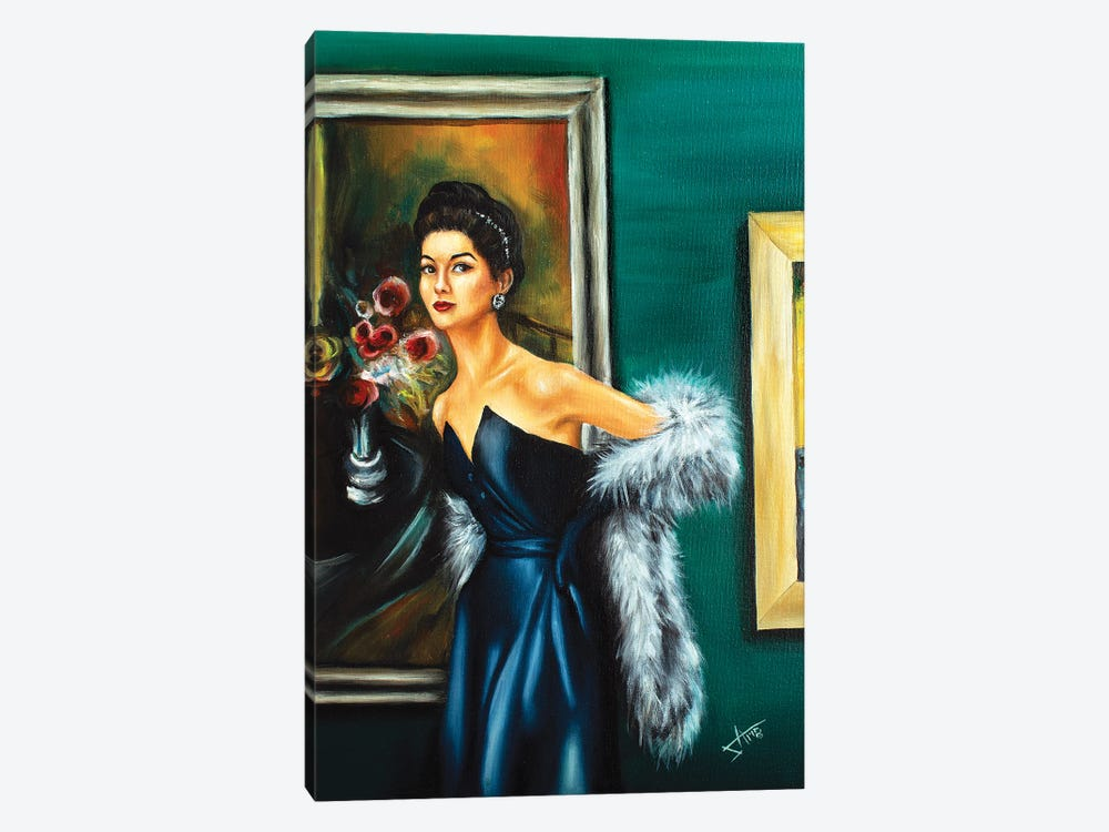 Solo Show by Salma Nasreldin 1-piece Canvas Artwork