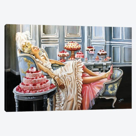 Marie Antoinette (2020 A) Canvas Print #NSD30} by Salma Nasreldin Canvas Artwork