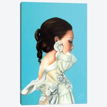 Spring Queen Canvas Print #NSD33} by Salma Nasreldin Canvas Artwork