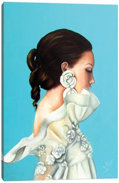 Spring Queen Canvas Art Print