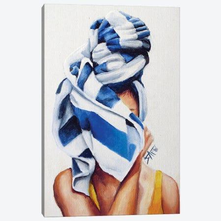 Wrap It Up Canvas Print #NSD40} by Salma Nasreldin Canvas Art Print